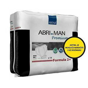 Abena Abri-Man Premium Formula 2 ulošci, 14 kom/pak