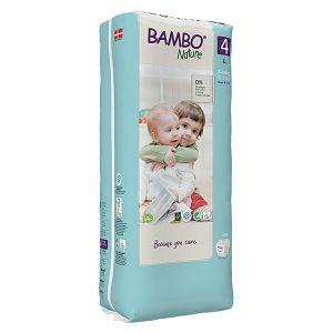 Bambo Nature 4 Maxi, vel. 7-14 kg (48 kom/pak)