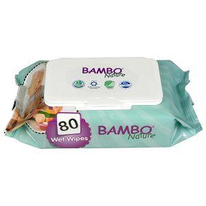 Bambo Nature vlažne maramice (80 kom/pak)