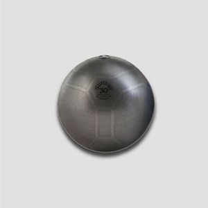 Ledragomma Original Pezzi SoffBall Maxsafe, lopta za vježbanje - 30 cm, crna