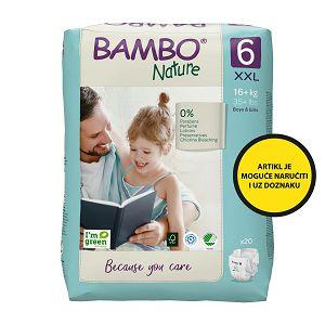 Bambo Nature XXL 6, 16+ kg (20 kom/pak)