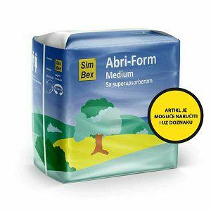SimBex Abri-Form pelene, 10 kom/pak